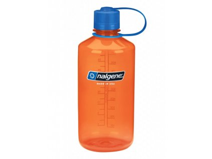 NALGENE - láhev na pití Narrow Mouth 1000 ml Orange