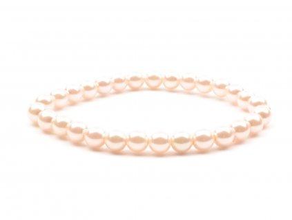 Moni - dámský náramek perly růžové