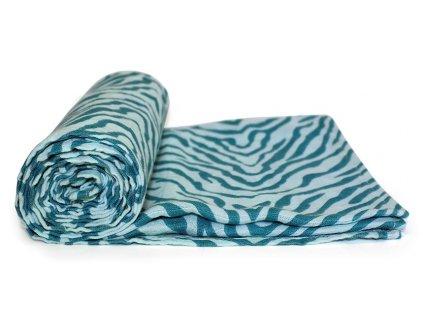 Tommy Lise bambusová mušelínová plena Blue Tiger