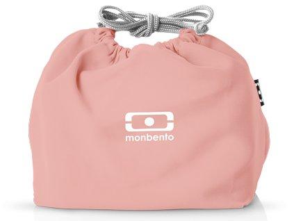 Monbento sáček na svačinový box MB Pochette pink Flamingo