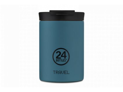 24Bottles nerezová termohrnek Travel Tumbler atlantic bay 350 ml