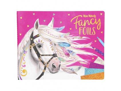 Miss Melody kreativní omalovánky Fancy Foils