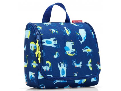 Reisenthel - toaletní taška toiletbag kids abc friends blue