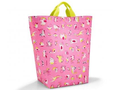 Reisenthel taška na hračky storagesac kids abc friends pink