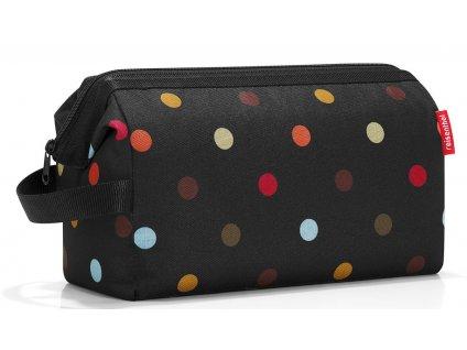 Reisenthel kosmetická taška Travelcosmetic XL dots