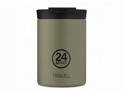 24Bottles nerezový termohrnek Travel Tumbler sage 350 ml