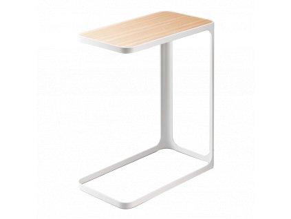 YAMAZAKI boční stolek Frame bílý