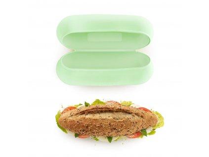 Lékué silikonový obal na bagetu Reusable baguette case zelený