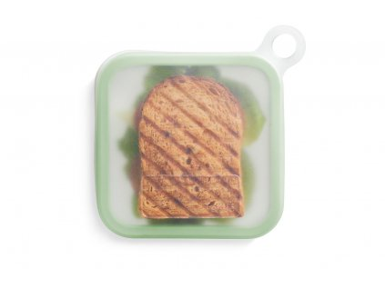 Lékué silikonový obal na sandwich Reusable Sandwich case zelený