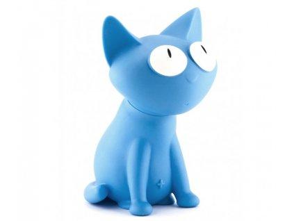 MTM - kasička kočka Silly modrá