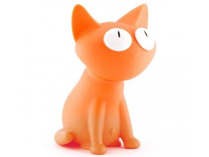 MTM - kasička kočka Silly oranžová