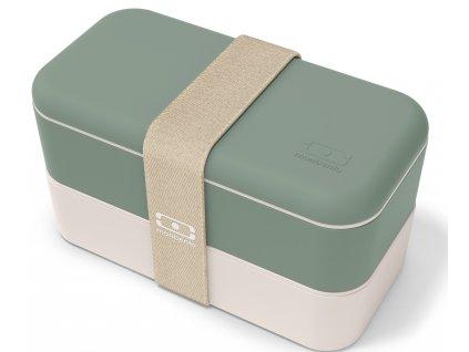 Monbento Bento box na jídlo MB Original green Natural