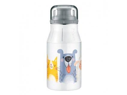 Alfi dětská nerezová lahev Cute animals 0,4l