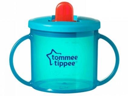 Tommee Tippee hrneček dvouuchý pro nejmenší Basic tyrkysový