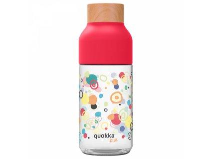 Quokka plastová láhev Ice Kids 570 ml dots