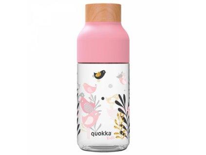 Quokka plastová láhev Ice Kids 570 ml birds