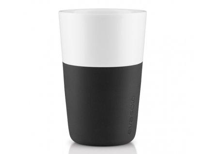 Eva solo - termohrnek na latte 2 ks černý