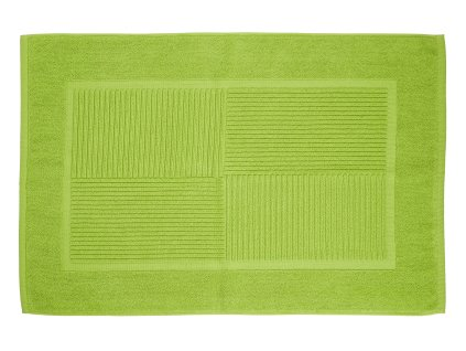 Zone - koupelnová předložka Confetti limetková