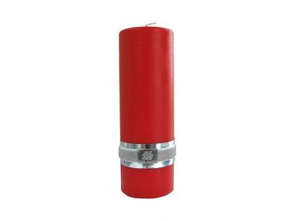 Lene Bjerre - svíčka Basic červená 14 cm