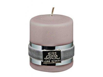 Lene Bjerre - svíčka Basic pudrová 6 cm