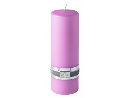 Lene Bjerre - svíčka Basic růžová 18 cm