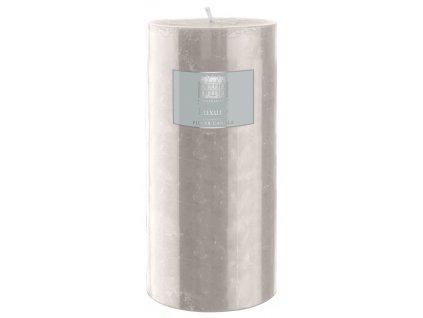 Villa Collection - svíčka Rustik šedá 15 cm