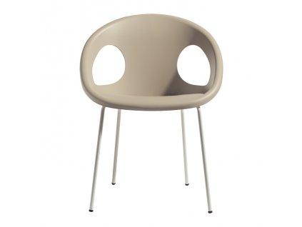 SCAB - židle DROP lakované nohy