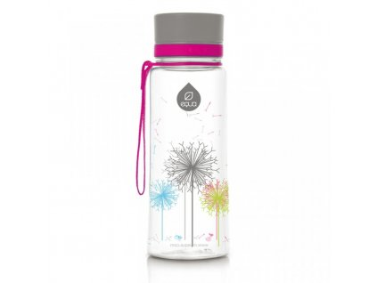 EQUA plastová láhev na vodu Dandelion 0,4 l