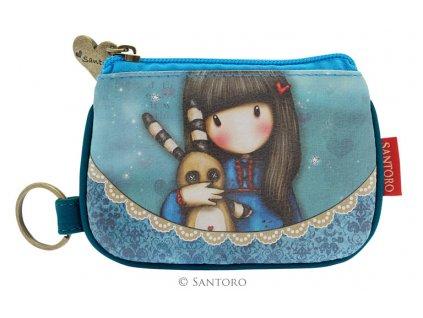 SANTORO - malá peněženka HUSH LITTLE BUNNY