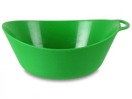 Lifeventure plastová miska Ellipse zelená