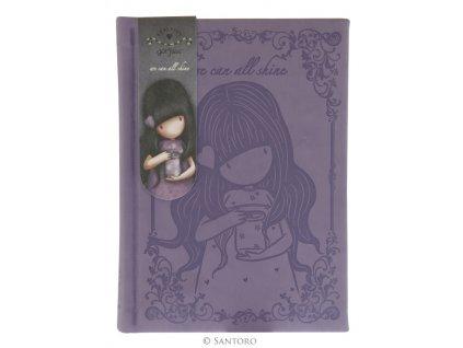 SANTORO embosovaný zápisník We Can All Shine