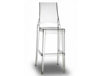 SCAB - barová plastová židle GLENDA balení 2 ks