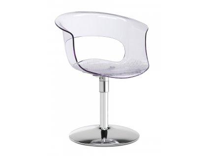 SCAB - plastová židle MISS B TWIST ANTISHOCK