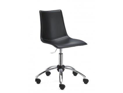 SCAB - polstrovaná kolečková židle ZEBRA POP