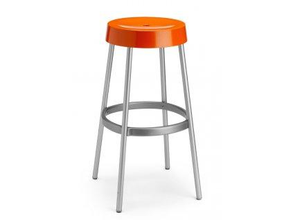 SCAB - barová plastová židle GIM