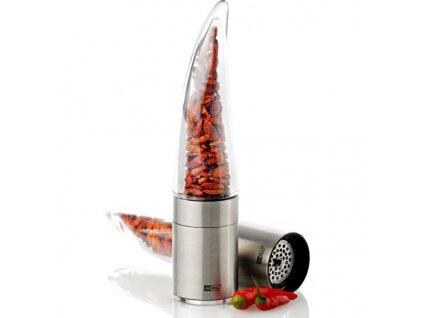 AdHoc - dárkový set mlýnek na chilli PEPE + balíček papriček