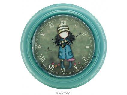 SANTORO nástěnné hodiny Toadstools