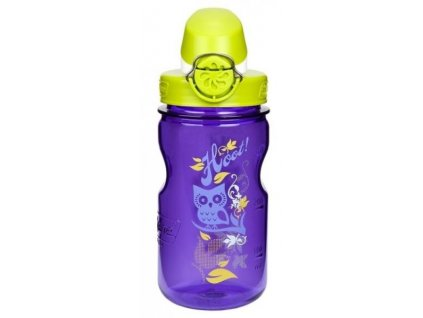 NALGENE - dětská láhev On The Fly 350 ml Purple Hoot