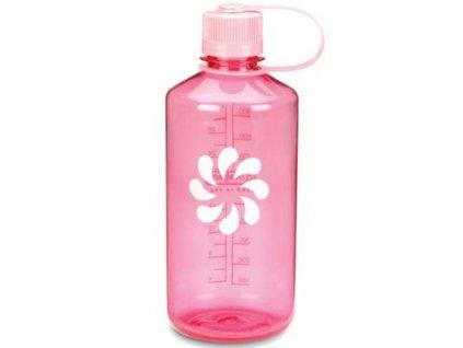 NALGENE - láhev na pití Narrow Mouth 1000 ml Pink