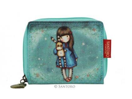 SANTORO - mini peněženka HUSH LITTLE BUNNY