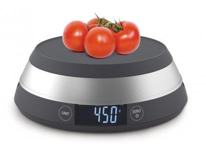 JOSEPH JOSEPH digitální kuchyňská váha Switch šedá