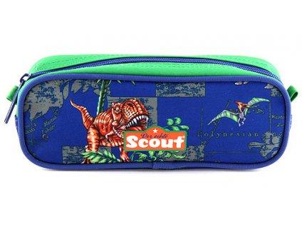 Školní penál Scout Basic - Dinosauři