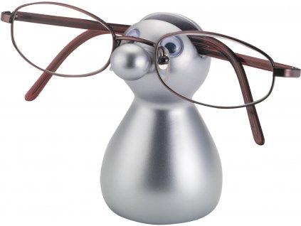 BALVI stojánek na brýle Guido stříbrný