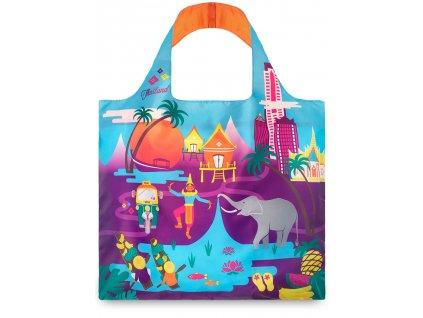 LOQI - skládací nákupní taška Thailand by Melissa Mackie