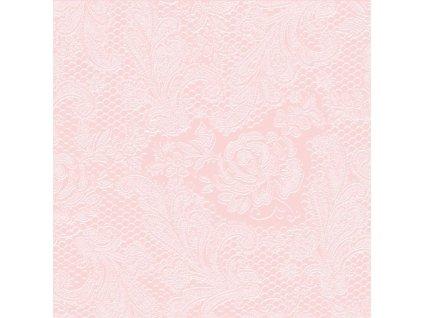 PPD - papírové ubrousky Lace Embossed rose