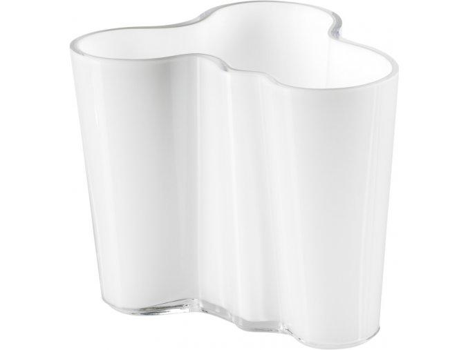 Iittala - váza Alvar Aalto , v. 120 mm bílá