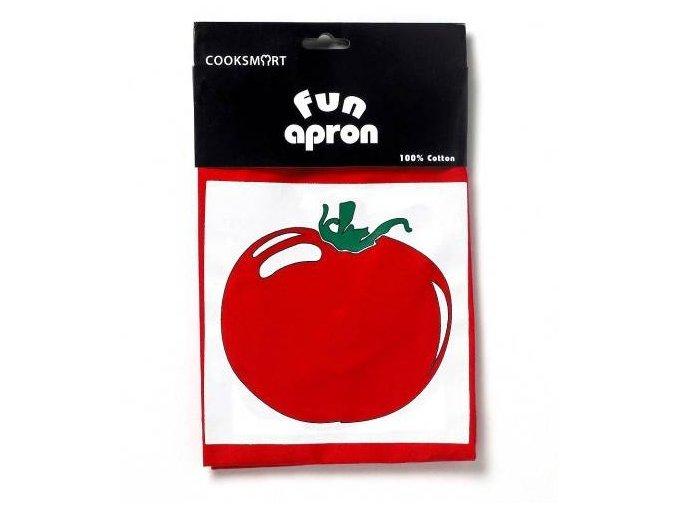Cooksmart - Pepper červená zástěra