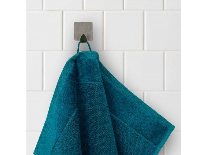 Möve - bambusový ručník modrozelený