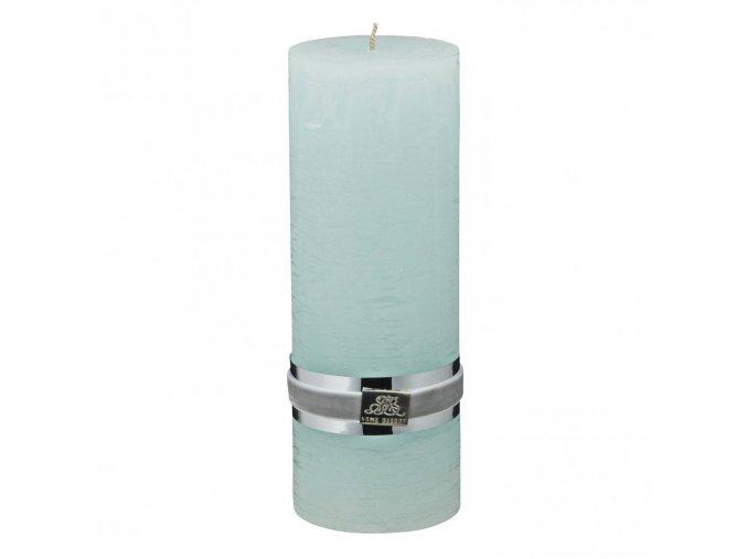 Lene Bjerre - svíčka Rustic - cool mint large