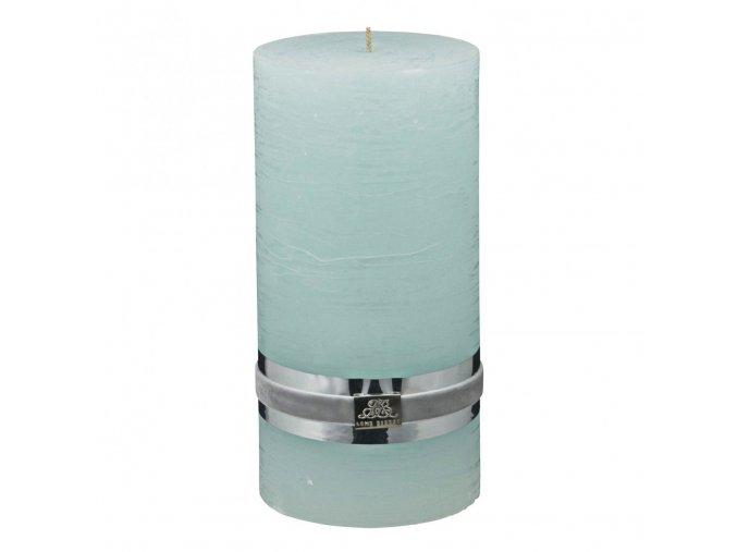 Lene Bjerre - svíčka Rustic - coll mint xl